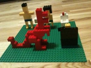 Den lilla dysfunktionella familjen – lego edition