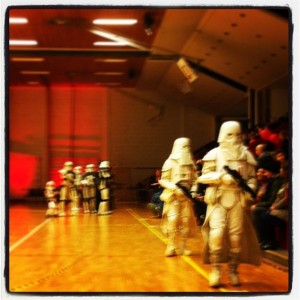 Storm troopers at Husebyhallen